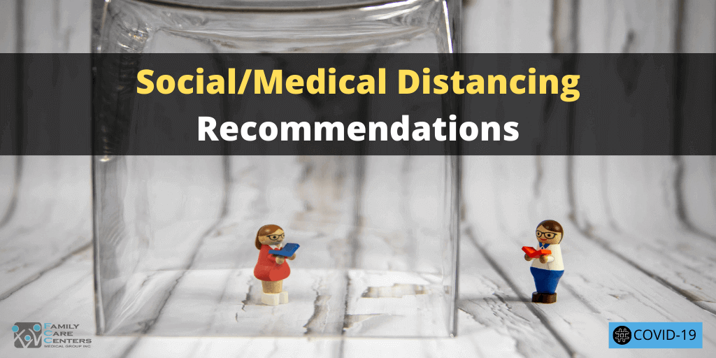 Telehealth Appointments Added to Social/Medical Distancing Recommendations