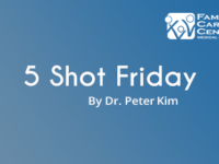 5-Shot Friday: 5-ish Principles To Hit The Ground Running