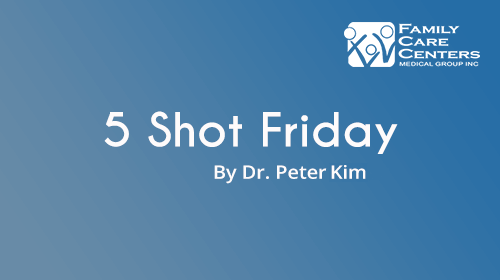 5-Shot Friday for 1/26/18: 1-Shot, Ready Player You