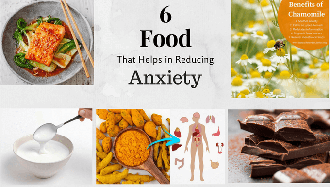 6 super foods for anxiety relief