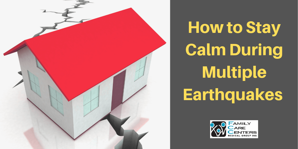 Earthquake and A Firmly Standing House