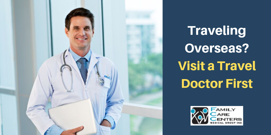 Image of a Smiling Travel Doctor